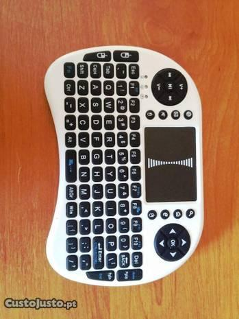 Mini Teclado + rato Wireless Smart TV