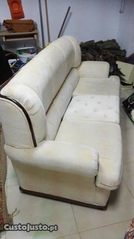 Conjunto Sala Sofa + 2 Maples