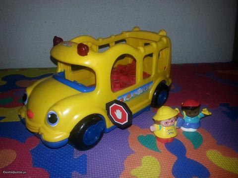 Autocarro Little People da Fisher Price