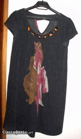 Vestido de lã, Miss Pepper, Tam M