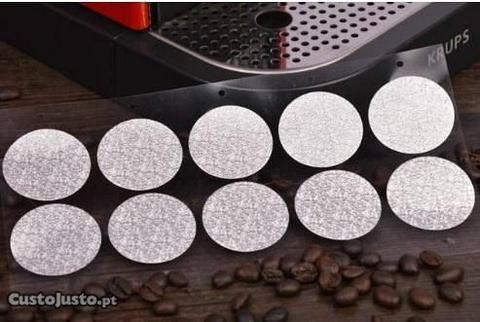 Chá e Café na Nespresso - 100 Tampas Auto-adsivas