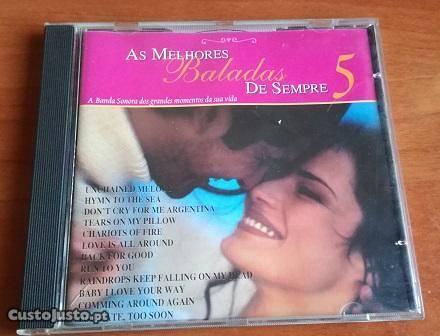 As Melhores Baladas de Sempre 5 CD 1998