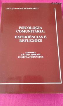 Livro psicologia comunitária ( experiências...)