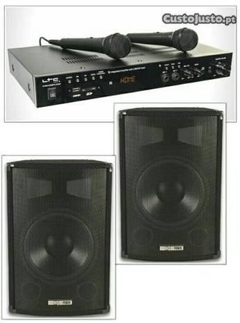 Sistemas de Karaoke completos - com 800W ou 400W