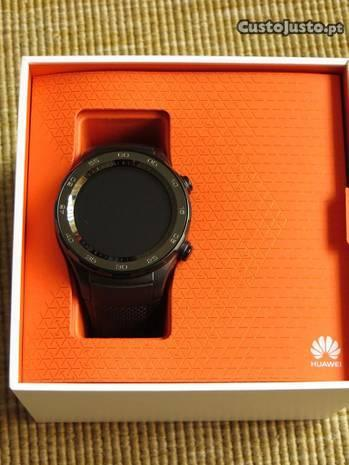Huawei Watch 2 Carbon Black, novo, garantia- Troco