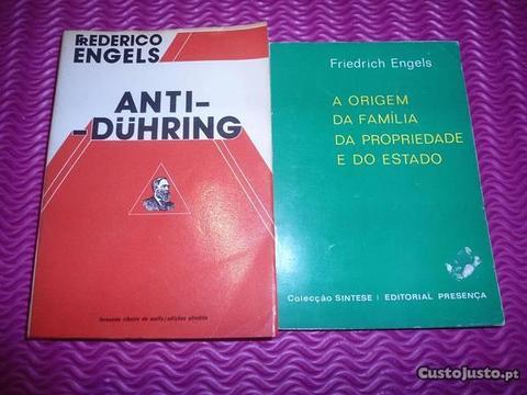 2 Obras de Friedrich Engels, Editadas nos anos 70
