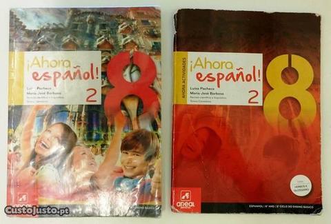 Livros Espanhol Ahora español 2