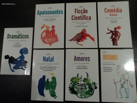 Livros de Contos de autores consagrados
