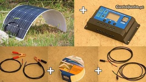 Kit Solar Autocaravana - Pronto a ligar!