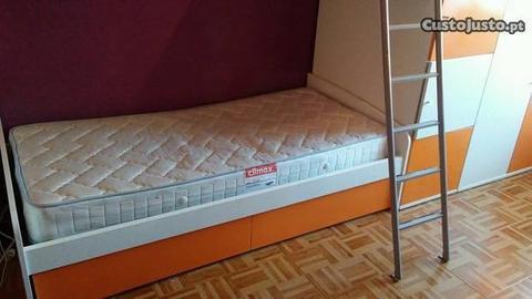 Beliche com armário da moviflor