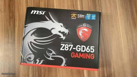 Motherboard (Placa Mãe) MSI Z87-GD65 Gaming