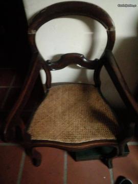 Cadeira Palhinha Antiga