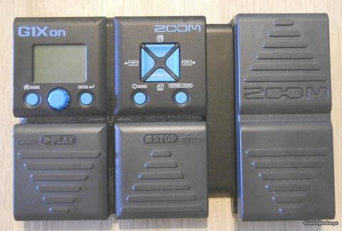Zoom G1Xon Multi FX Pedal for Guitar