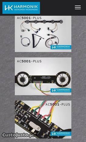 Harmonik AC5001 PLUS para acordeão e concertina