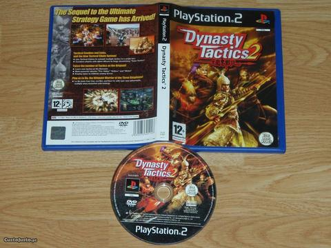Playstation 2: Dynasty Tactics 2