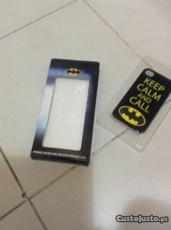 1 Capa rígida Iphone 4/4s Batman-nova/na embalagem