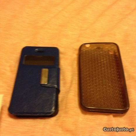 2 Capas telemóveis iPhone 3 e iPhone 4-bom estado