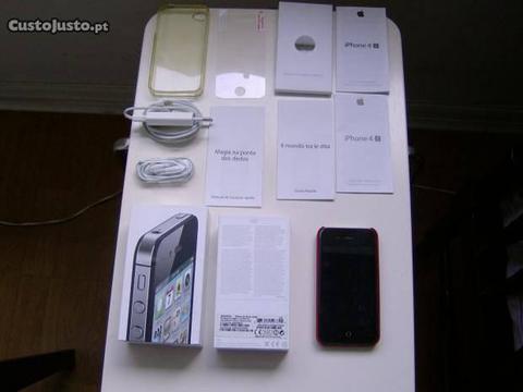 Iphone 4S 64G Como Novo Original Em Caixa