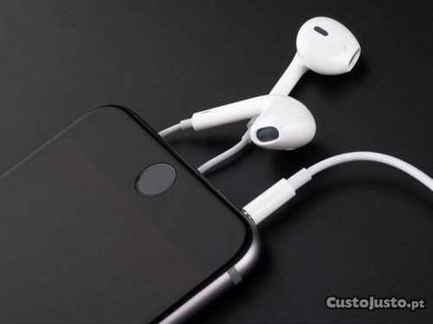iPhone auriculares originais, novos e selados