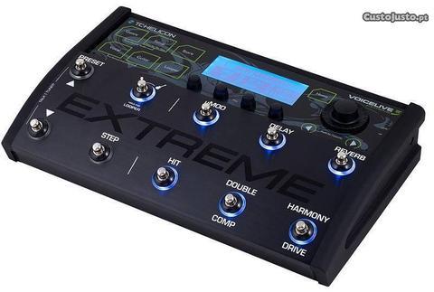 TC-Helicon VoiceLive 3 Extreme usado ao vivo 5 vez