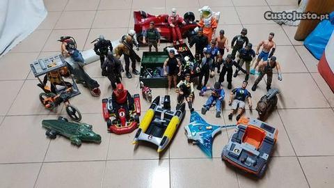 Action Man - Enorme Colecção de Brinquedos