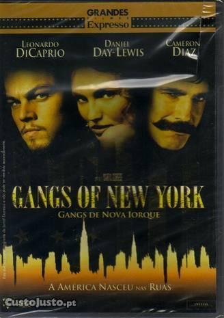 Filme em DVD: Gangs de Nova Iorque - NOVO! Selado!