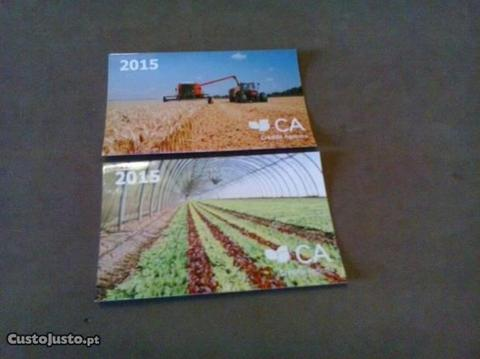 2 Calendários 2015 Crédito Agrícola