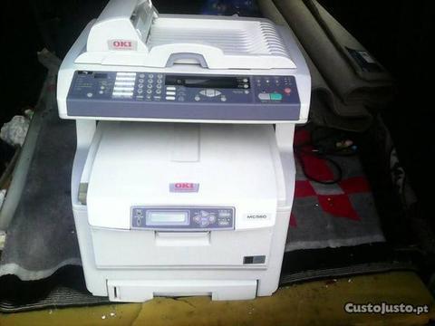 Impressora OKI digital com Fax