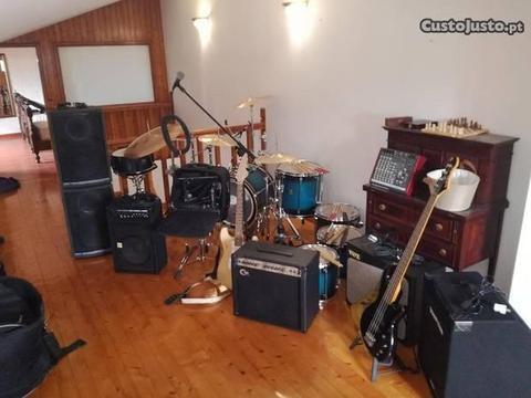 Equipamento para studio de musica completo