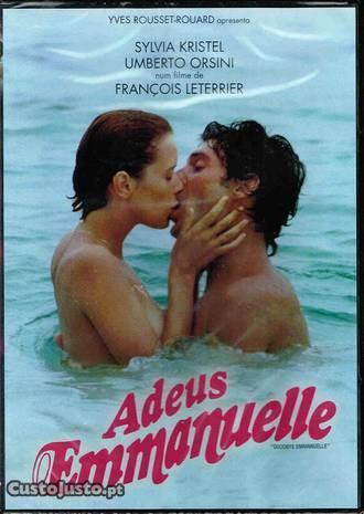 Filme em DVD: Adeus Emmanuelle - NOVO! Selado!