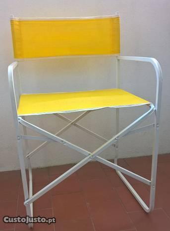 Cadeira de Realizador Articulada (praia/campismo)