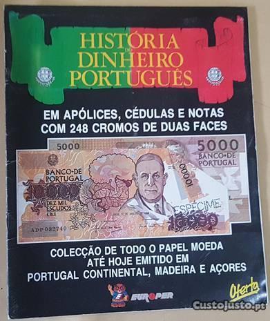 História do Dinheiro Português (portes pagos)