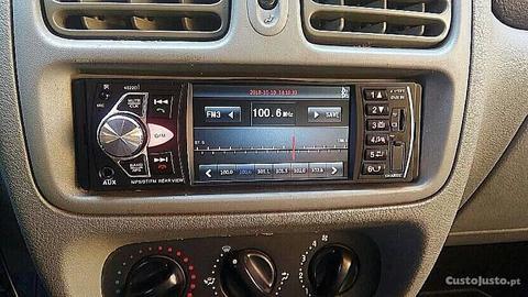 Auto rádio bluetooth tela de 4 polegadas