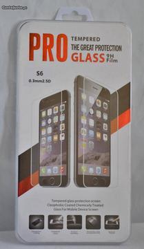 Samsung Galaxy S6 - película vidro temperado