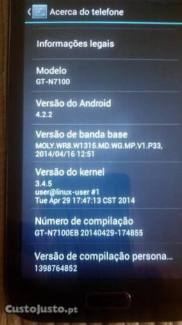 Telemóvel smartphone android note2