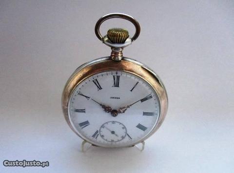 8f1f6cb6580 Relógio de bolso antigo 1907 em Prata - OMEGA