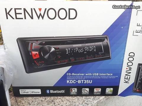 Auto rádio Kenwood