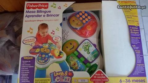 Mesa de atividades Aprender e Brincar Fisher Price