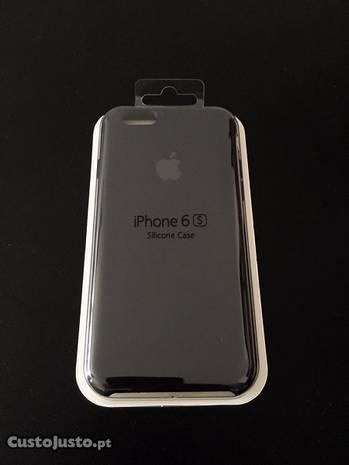 Capa iPhone silicone - Cx selada - original