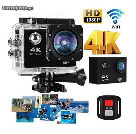 NOVA Action Camera Ultra HD 4K - WiFi - Acessórios