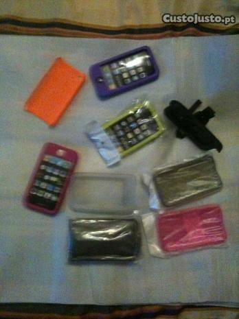 Iphone 3GS/4/4s capas e acessorios