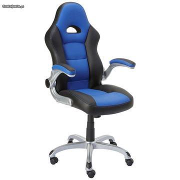 Cadeira Gaming Staples Azul - Igual a Nova