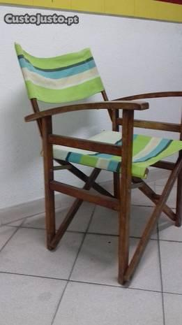 Bonitas cadeiras de realizador articuladas